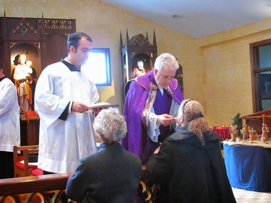 Candlemas - distribution of candles