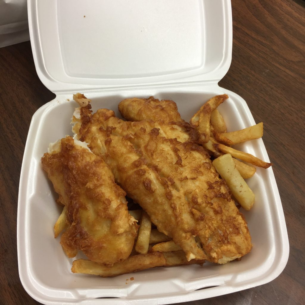 Fish & Chips to go
