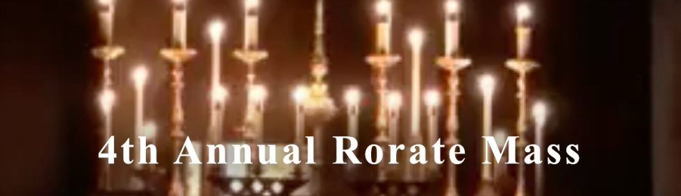 Rorate Mass