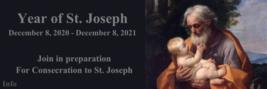 Preparation for Consecration to St. Joseph