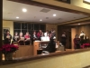 Holy Ghost Choir singing before Midnight Mass