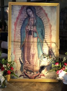 Missionary Image of Our Lady of Guadalupe
